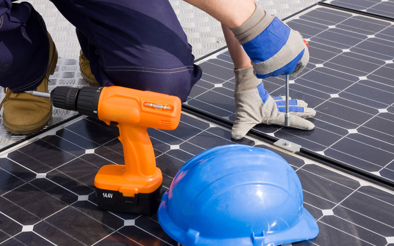 elektrische vloerverwarming zonnepanelen