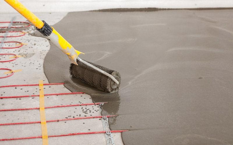 Vloerverwarming bij gietvloer mogelijkheden en prijs