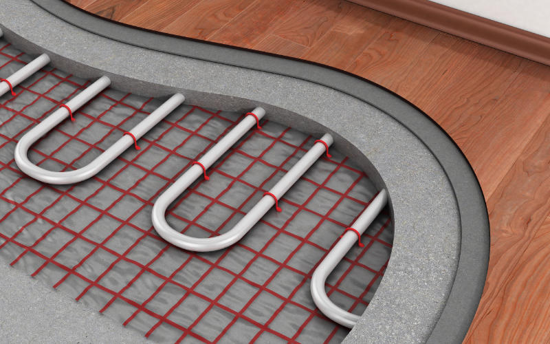 vloeropbouw vloerverwarming